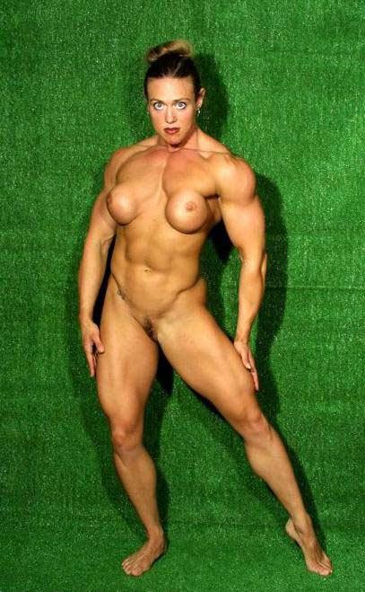 Бодибилдинг голые женщины фото